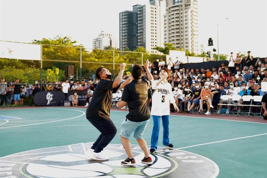 國泰NBA 3對3籃球賽將在台中熱血開打。(台中市府提供/盧金足台中傳真)