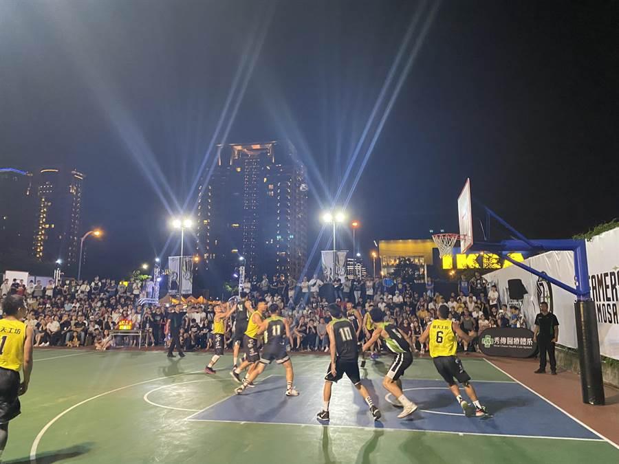 市府運動局感謝民間企業協助市府一同推廣籃球運動,提供球員交流球技的舞台,歡迎各地球迷到場加油。(台中市府提供/盧金足台中傳真)
