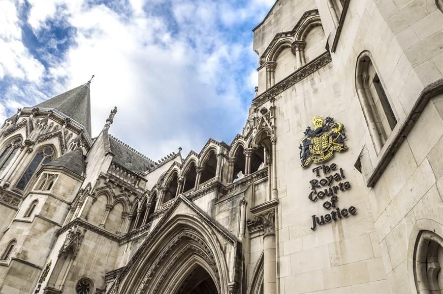 英國高等法院外景。(Shutterstock)