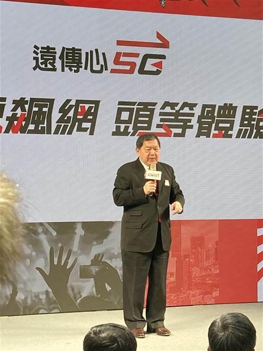 (圖說:遠傳電信5G於3日正式開賣,由董事長徐旭東親自主持。圖/林淑惠)