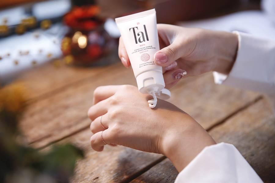 蒂愛麗與德國海格堡大學共同研究顯示,57位在醫院進行化療患者配合護手霜測試,在手部肌膚乾燥改善上給予極滿意的評價。(圖/品牌提供)
