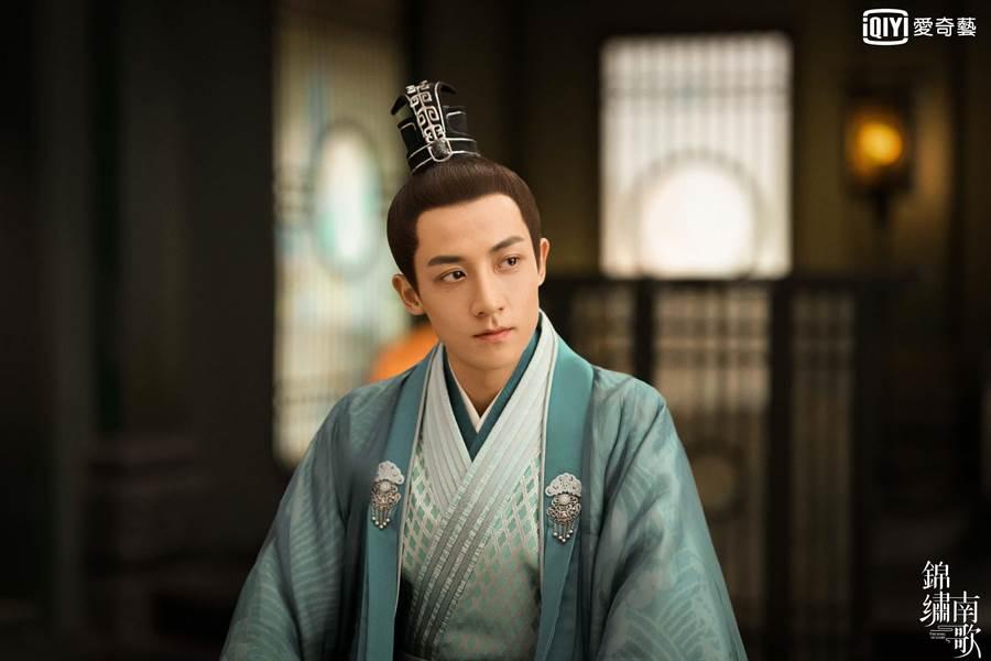 谷嘉誠飾演「竟陵王」劉義宣。(愛奇藝台灣站提供)