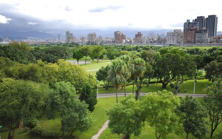 Legend 63中高樓層向外眺望即可觀賞上萬坪公園綠地(圖/同豐永實業提供)