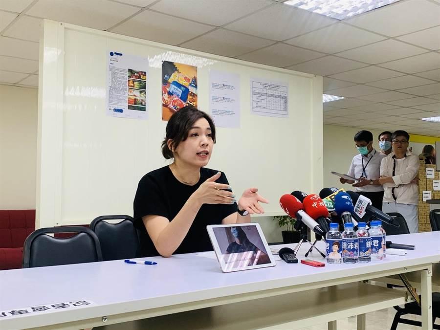 台北市議員鍾沛君指出,烏龍通報高達8563件,讓員警疲於奔命,民眾也不堪其擾。(張薷攝)