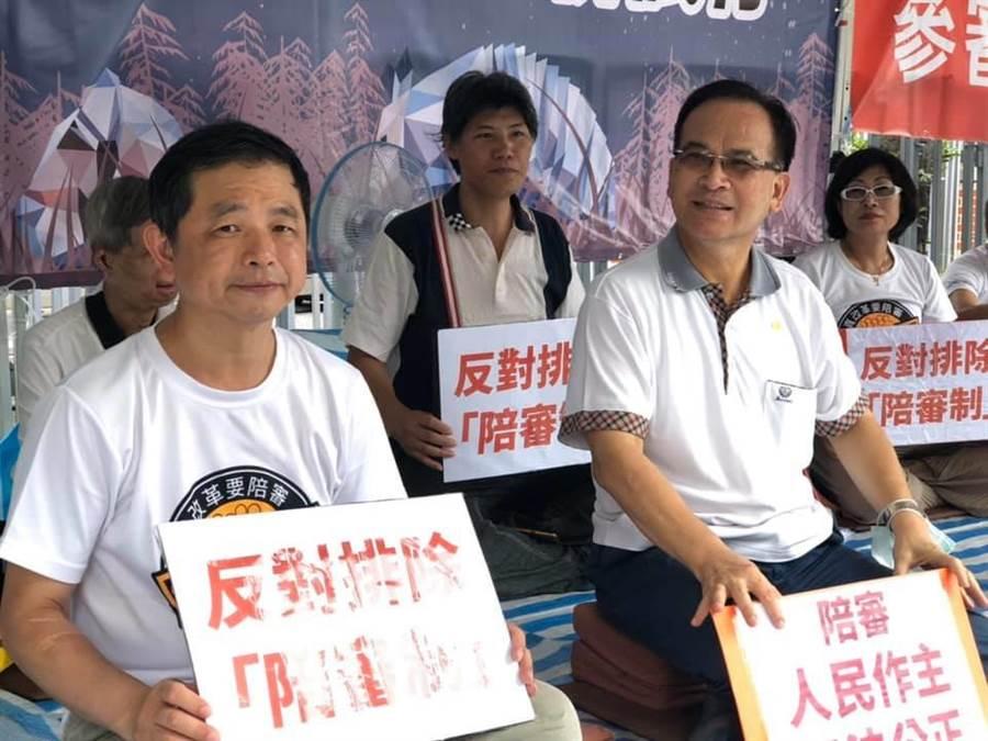 民進黨支持參審制  蘇煥智:陪審制擋人財路。台灣維新提供