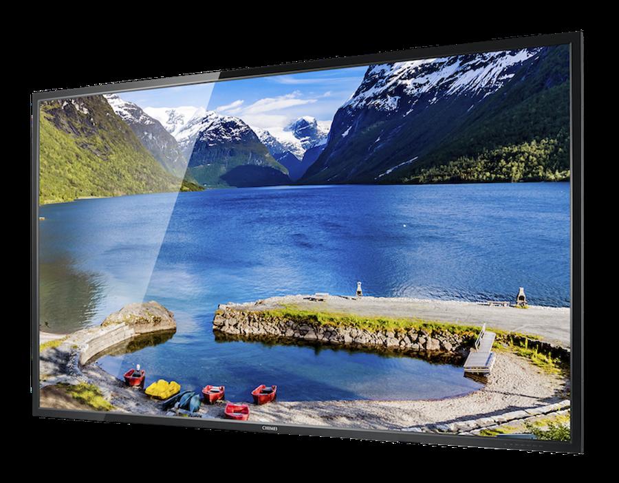 CHIMEI奇美家電於2020台北電器空調3C影音大展祭4大優惠,購買指定型號大4K液晶顯示器,享最高萬元現金回饋;U750系列86吋液晶顯示器。(CHIMEI奇美家電提供)