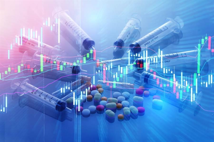 在新冠疫情推波助瀾下,市場狂炒生技股,搭上這波列車的投資人賺飽飽。(圖/達志影像/shutterstock)