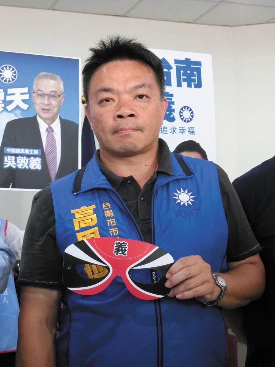 中華人權協會理事長高思博。(本報資料照片)