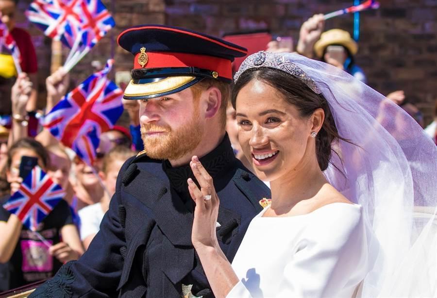 哈利王子11億世紀婚禮變百姓買單 梅根反嗆「替英國賺366億」(圖/ 取自達志影像)