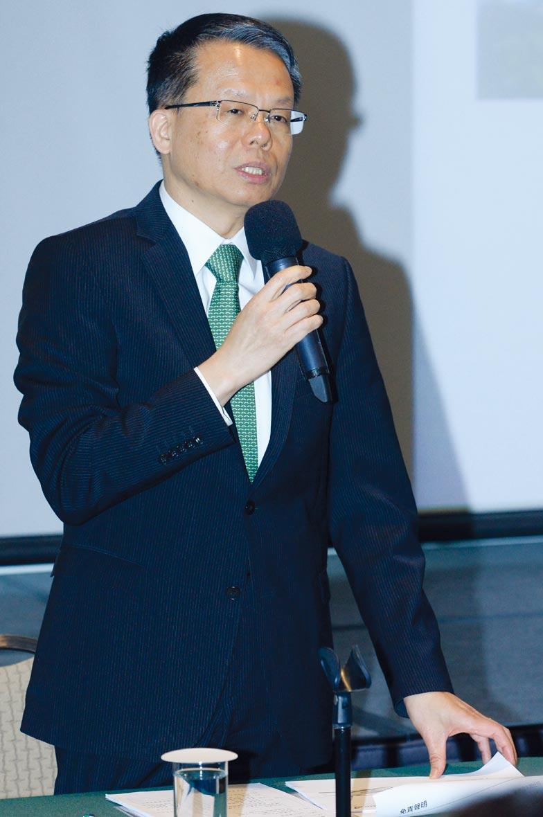 長榮航總經理孫嘉明。圖/本報資料照片