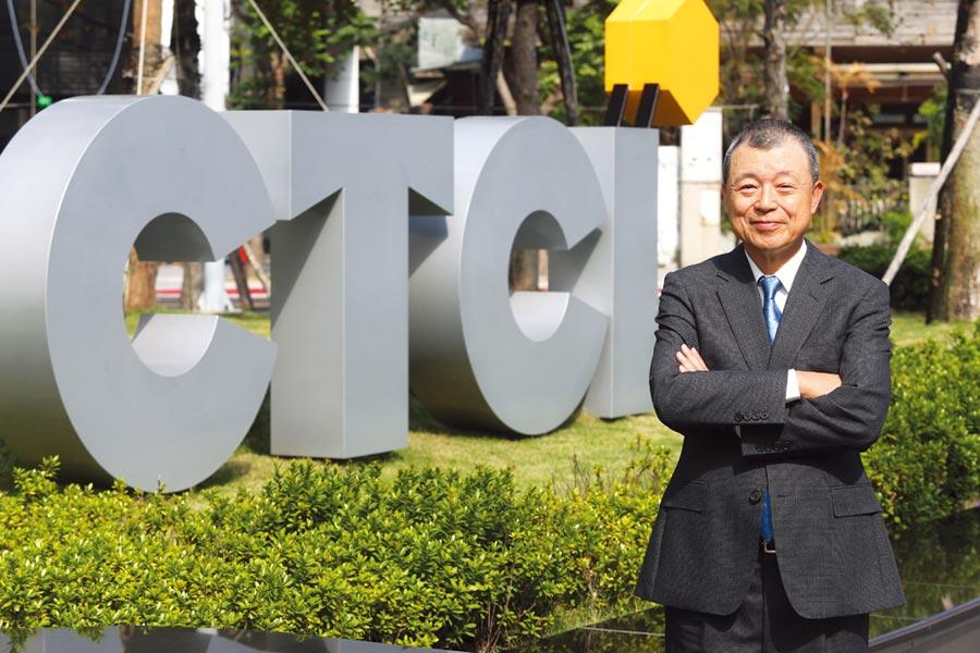 中鼎集團總裁余俊彥帶領中鼎將CSR轉化成企業核心競爭力,成為企業的DNA。圖/業者提供