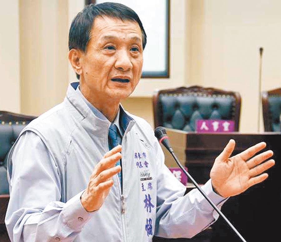 屏東政壇怪象不斷,圖為屏東市長林恊松。(本報資料照片)