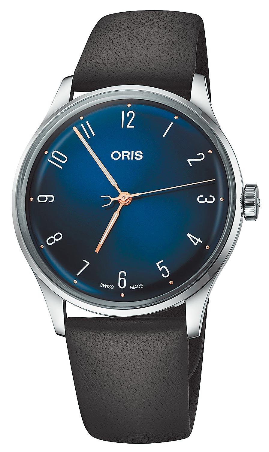 ORIS爵士大師James Morrison音樂學院限量表,6萬元。(ORIS提供 )