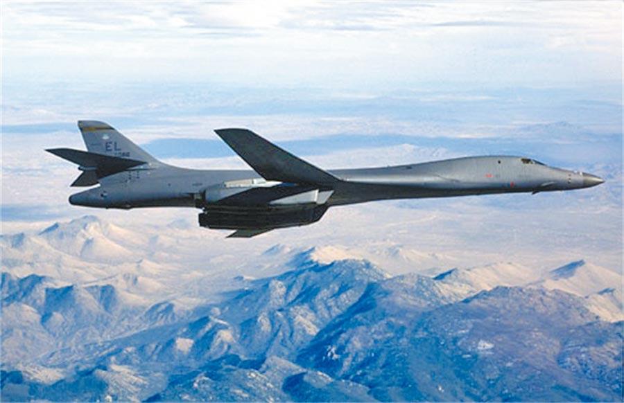 美军B-1B轰炸机。(取自美国空军官网)