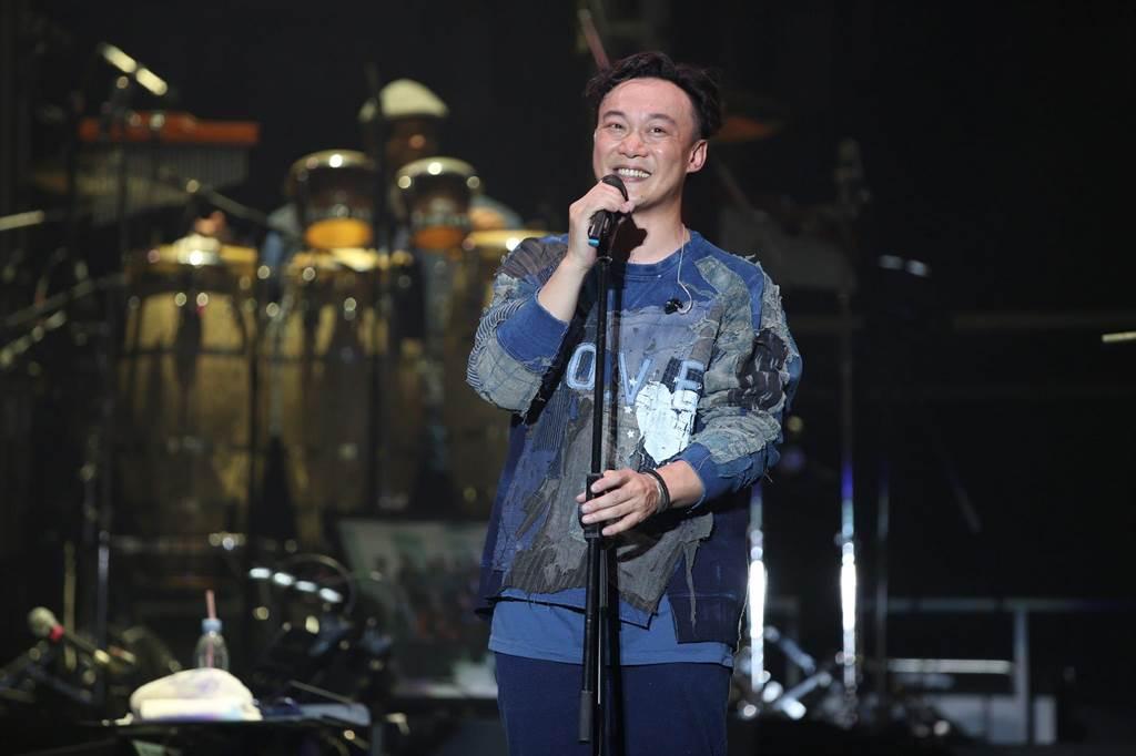 陳奕迅11日為慈善募款開唱。(環球提供/資料照)