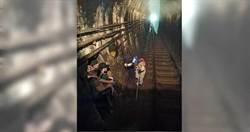4遊客玩命闖平溪線隧道!火車司機員急煞車:不要命別拖我下水
