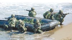 漢光36號演習 左營桃子園預演出意外!大浪掀翻膠艇 3陸戰精銳命危