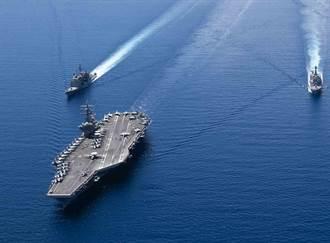 高調與陸南海對陣!美軍兩航母戰鬥群也要大演習