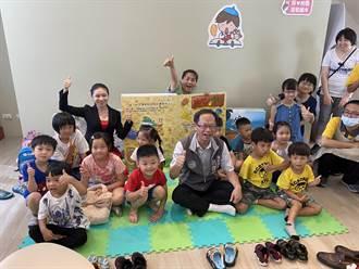 暑假環教繪本巡迴開跑 環保局長化身呂老師