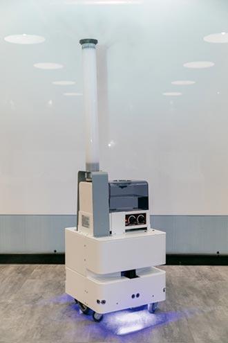東元智慧防疫機器人亮相