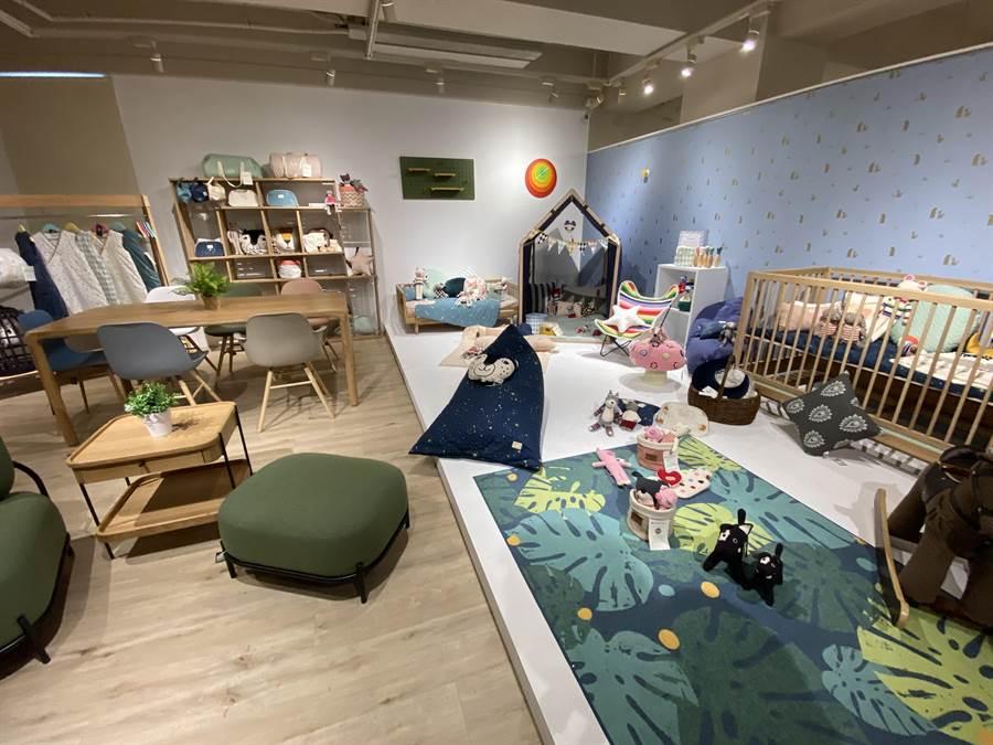 「夏馬城市生活」台中旗艦總部,讓消費者從建材、家具、家飾,一次購足。(盧金足攝)