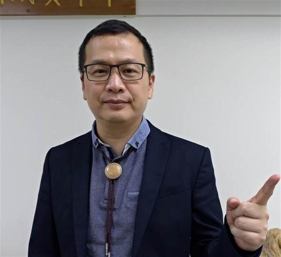 台北市議員羅智強。(圖/本報資料照,黃福其攝)