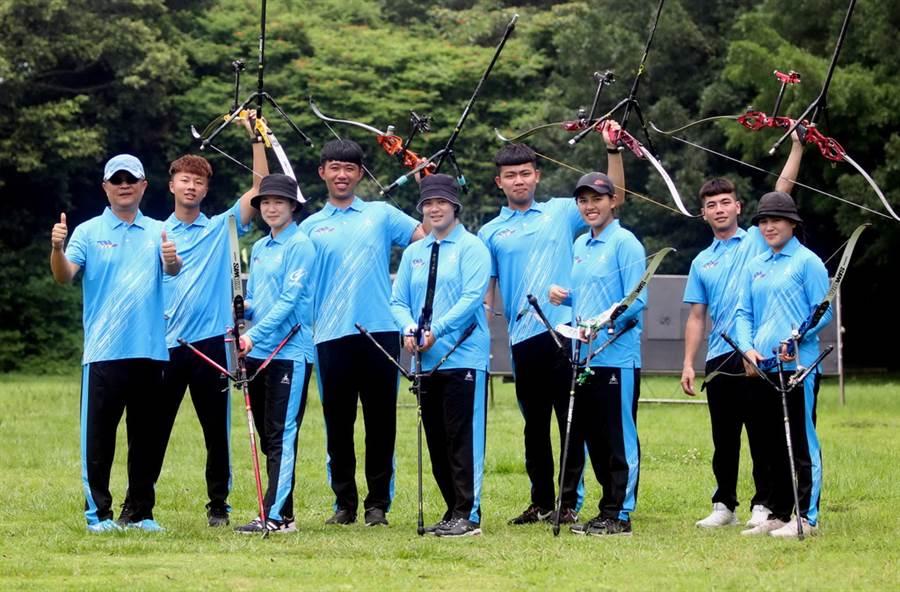 台南射箭隊5比0完勝寒舍,創造隊史首次完勝紀錄。(中華企業射箭聯盟提供)