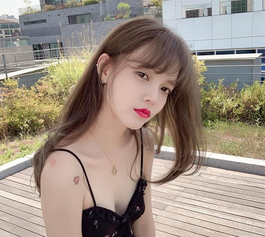FNC娛樂宣布申智珉退出AOA。(取自申智珉IG)