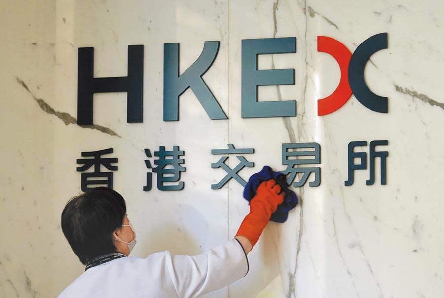 美國參眾兩院2日(當地時間)火速通過了《香港自治法案》。圖為香港交易所。 (中新社)