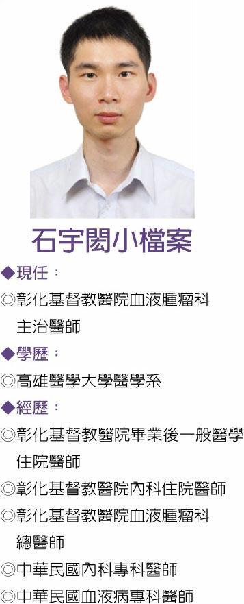 圖/彰化基督教醫院  石宇閎小檔案