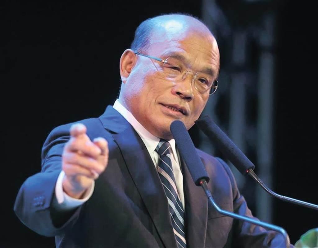 行政院長蘇貞昌。(圖/本報系資料照片)
