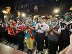 白沙屯媽祖進香啟程 徐國勇參與上轎儀式