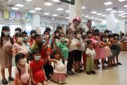 温芝樺化身說故事姐姐 陪孩子體驗母親懷胎辛苦