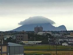 龜山島驚現雲殼活靈活現 網友:七龍珠龜仙人真的有