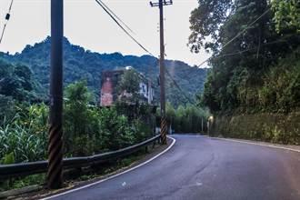 竹122線將設太陽能路燈改善夜間通行