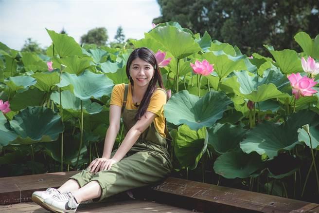 桃園蓮花季今年以「國際蓮花園」為主題,打造6種不同風格的國際拍照景點,讓遊客一解無法出國之愁,即起至8月30日止,綻放57天。(蔡依珍攝)