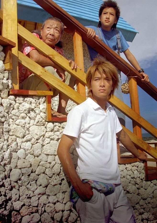 邱澤、沈建宏當年在《原味的夏天》飾演午馬的孫子,與楊冠玉導演一起在澎湖生活了快四個月。(資料照)