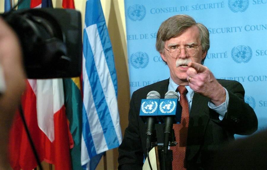 前白宮國家安全顧問波頓(John Bolton)。(新華社資料照片)