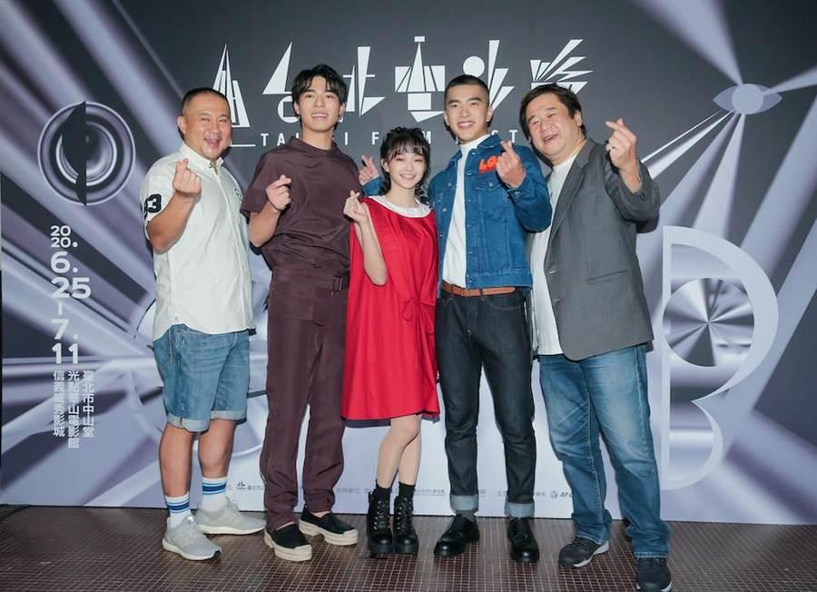 《刻在你心底的名字》在台北电影节首映。(卢祎祺摄)