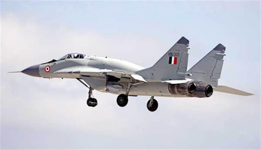 印度空軍的MiG-29UPG。(圖/印度空軍)