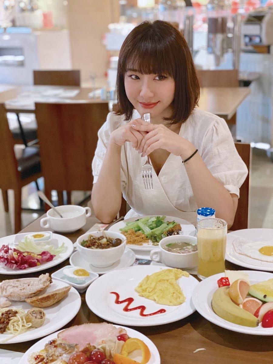 台中裕元花園酒店7月推出全民吃早餐2.0升級版,受歡迎的早餐7月起平日每人只要299元、假日369元。圖/業者提供