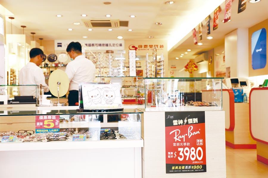 得恩堂眼鏡全省各門市推出「雷神價到」聰明配鏡活動。圖/業者提供