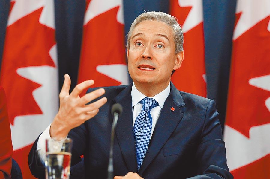 為抵制《香港國安法》,加拿大外長宣布,加方不允許對香港出口敏感軍品、中止《加港引渡條約》等措施。(路透)