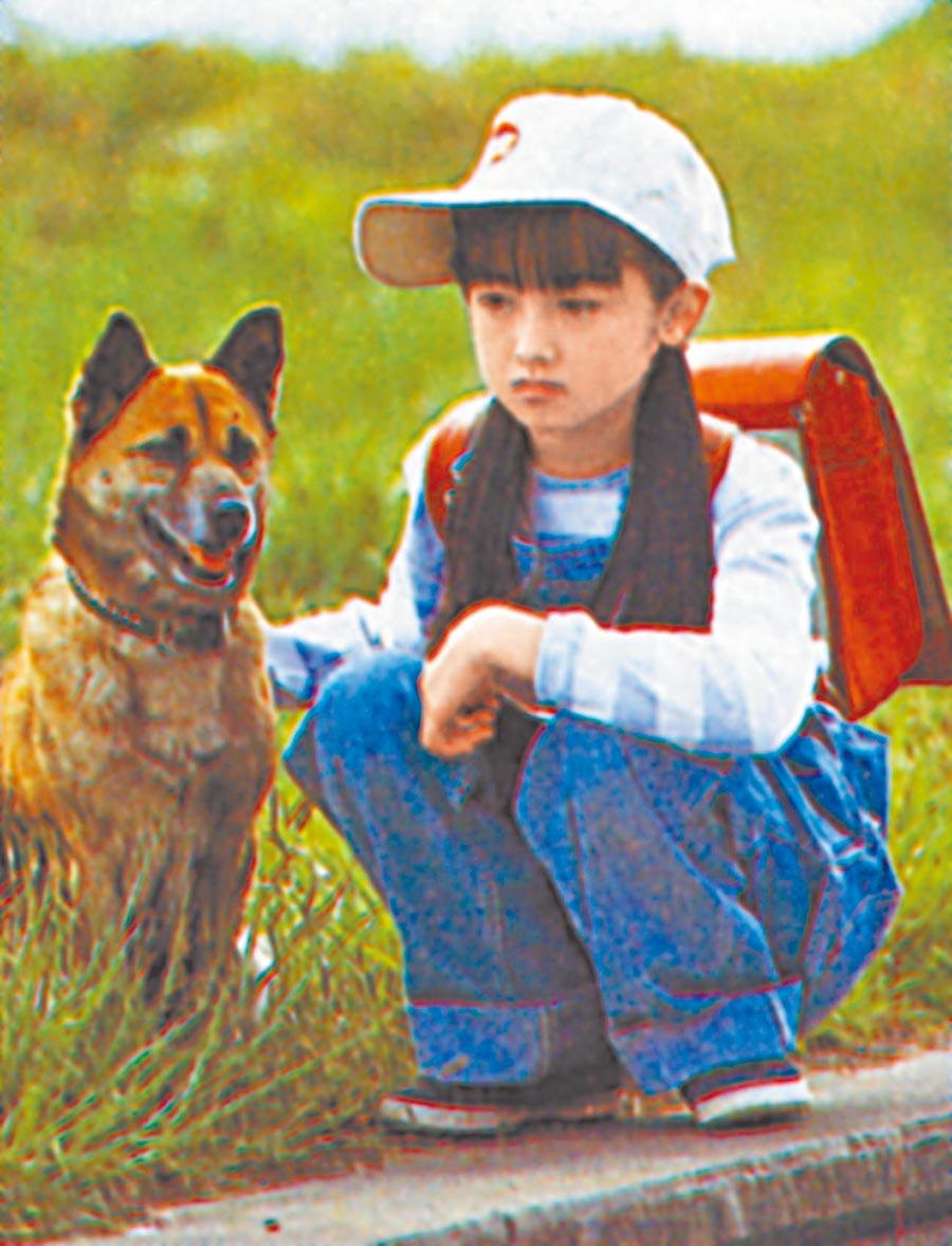 幼時的安達祐實在代表作《無家可歸的小孩》已表現亮眼。(資料照片)