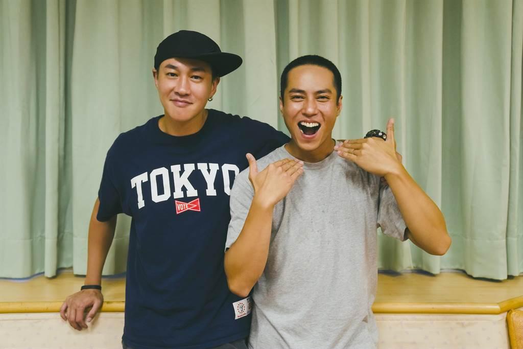 莊凱勛在何潤東執導的新戲剪了寸頭。(頤東娛樂提供)