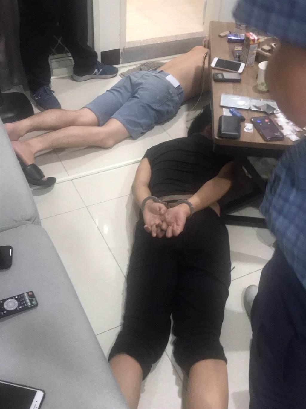 金門警方跨海赴台追查毒品源頭。(圖/警方提供)
