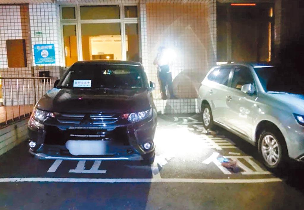新北市衛生局30歲林姓女雇員3日晚間在衛生局大樓墜樓身亡。(翻攝照片/葉書宏新北傳真)