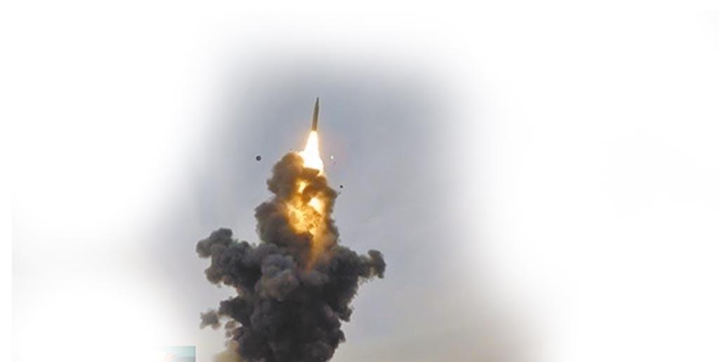 央視曝光東風-26飛彈發射畫面。(截圖自央視網)