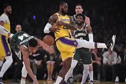 NBA》復賽戰力榜公鹿領先 湖人僅第3