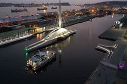 高雄觀光新亮點!全台首座可旋轉大港橋6日啟用